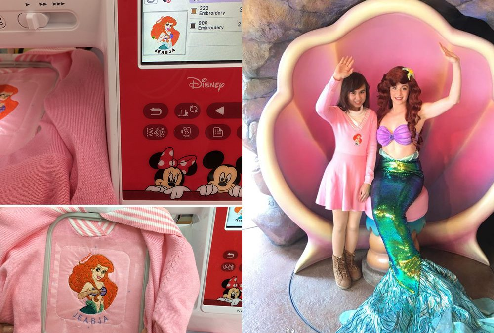 ปัก Ariel ไปตะลุย Tokyo DisneyResort