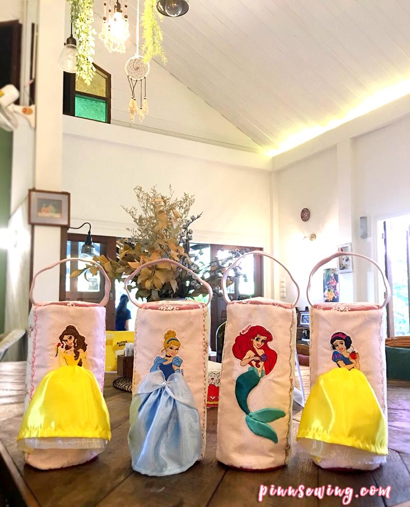 Jeabja Fufu กับ Princess Bag กระเป๋างานปักของคนรักเจ้าหญิงดิสนีย์
