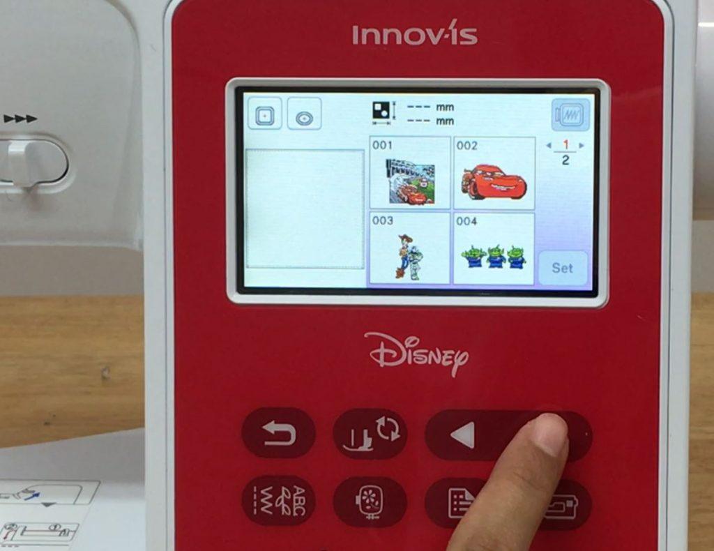 ลายปัก Toy Story จักรมิกกี้ NV180D Disney