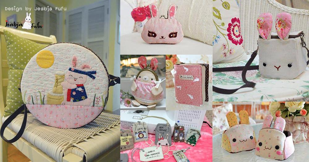 Jeabja Fufu Profile งานออกแบบ เย็บชิ้นงานแบบคนรักกระต่าย