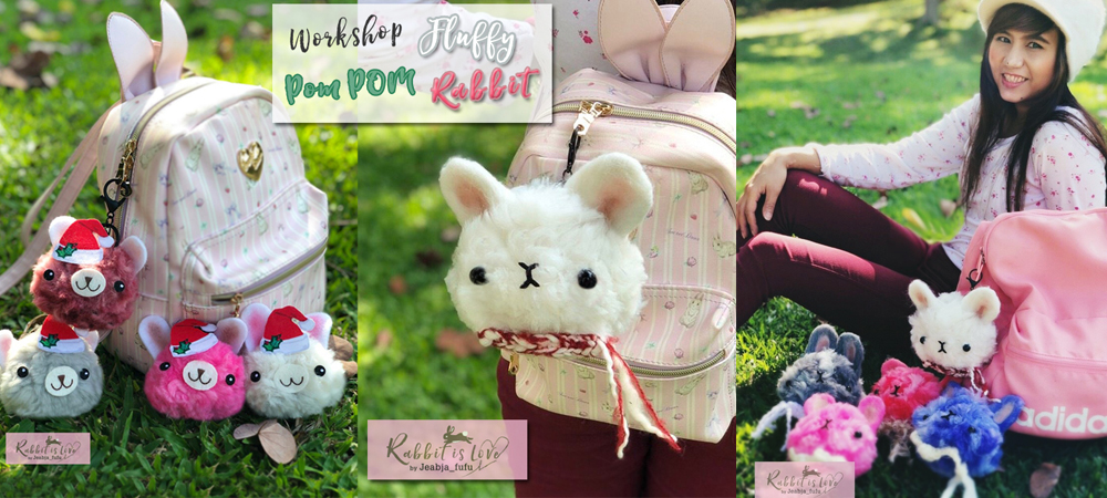 Jeabja Fufu Profile workshop ตุ๊กตา POM POM 01